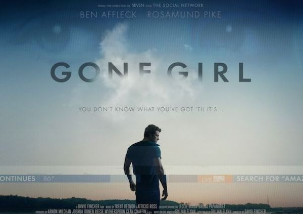 Nominaciones OSCARS 2015 - Gone Girl