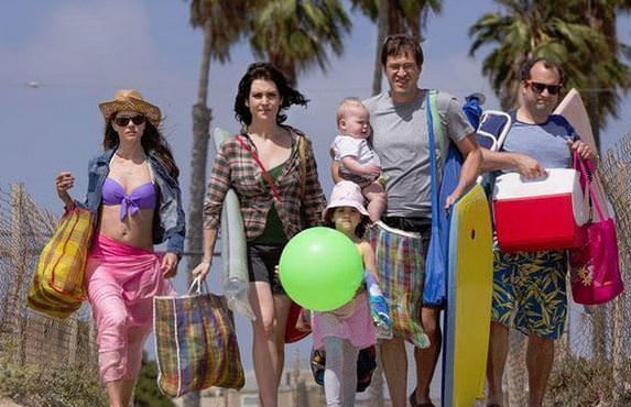 Serie Togetherness (HBO)
