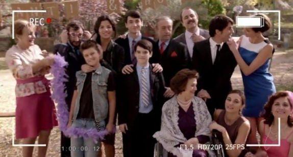 Los Navarro al completo en Algo que Celebrar (Antena 3)