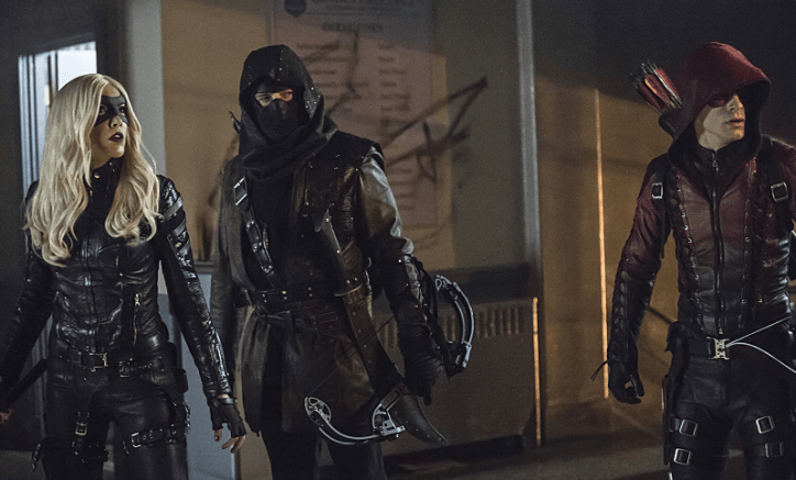 Arrow 3x12 Uprising