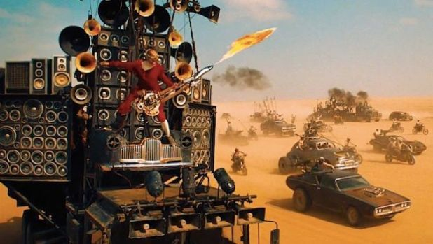 Guitarrista Mad Max