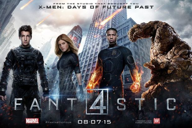 Crítica de la película The fantastic four