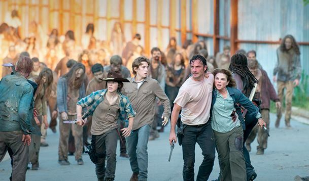 Midseason de la sexta temporada de The Walking Dead - Grupo