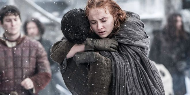 Game of Thrones 6x04 Sansa Stark y Jon Snow