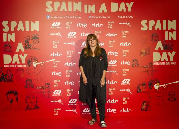 Entrevista a Isabel Coixet por el estreno de Spain in a day