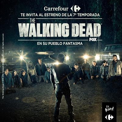 Carrefour Alcobendas te invita a ver 'The Walking Dead' (T7)