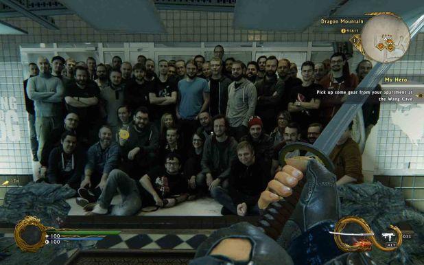 Los creadores del juego se han introducido dentro del mismo en un divertido easter egg.