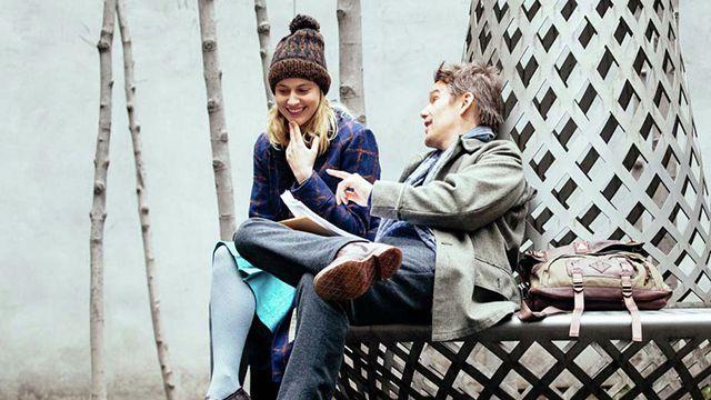Ethan Hawke y Greta Gerwig - Conversaciones literarias en Maggie's plan