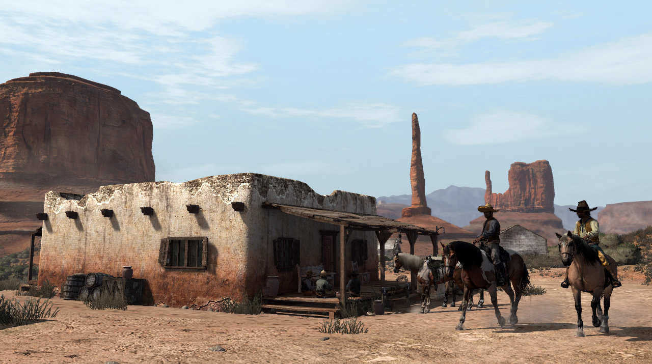 Llegar a México en Red Dead Redemption regala un momento inolvidable.