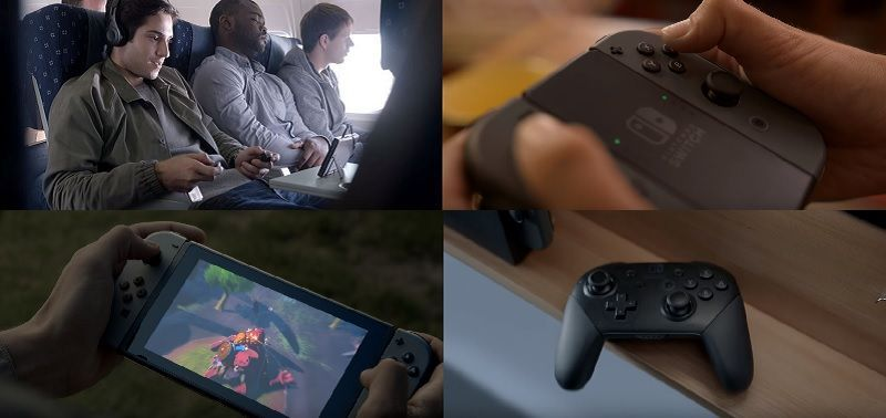 Una consola, cuatro formas de jugar