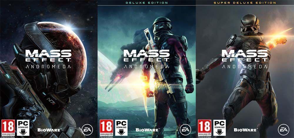 Ediciones Mass Effect Andromeda
