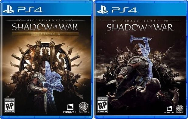 Shadow Of War Portadas ElrinconTV