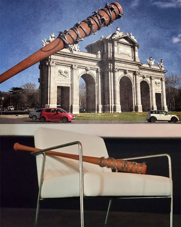 The Walking dead Euro Tour 2017 Lucille