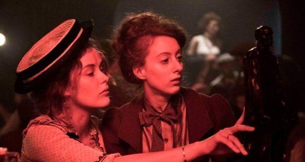 Carla Juri y Roxane Duran interpretan a Paula Becker y Clara Westhoff