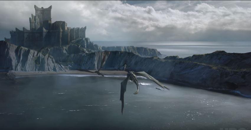 Drogon, Rhaegal y Viserion vuelven a unirse en la séptima temporada de 'Game of Thrones'