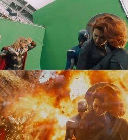 Los efectos digitales de Los Vengadores 1