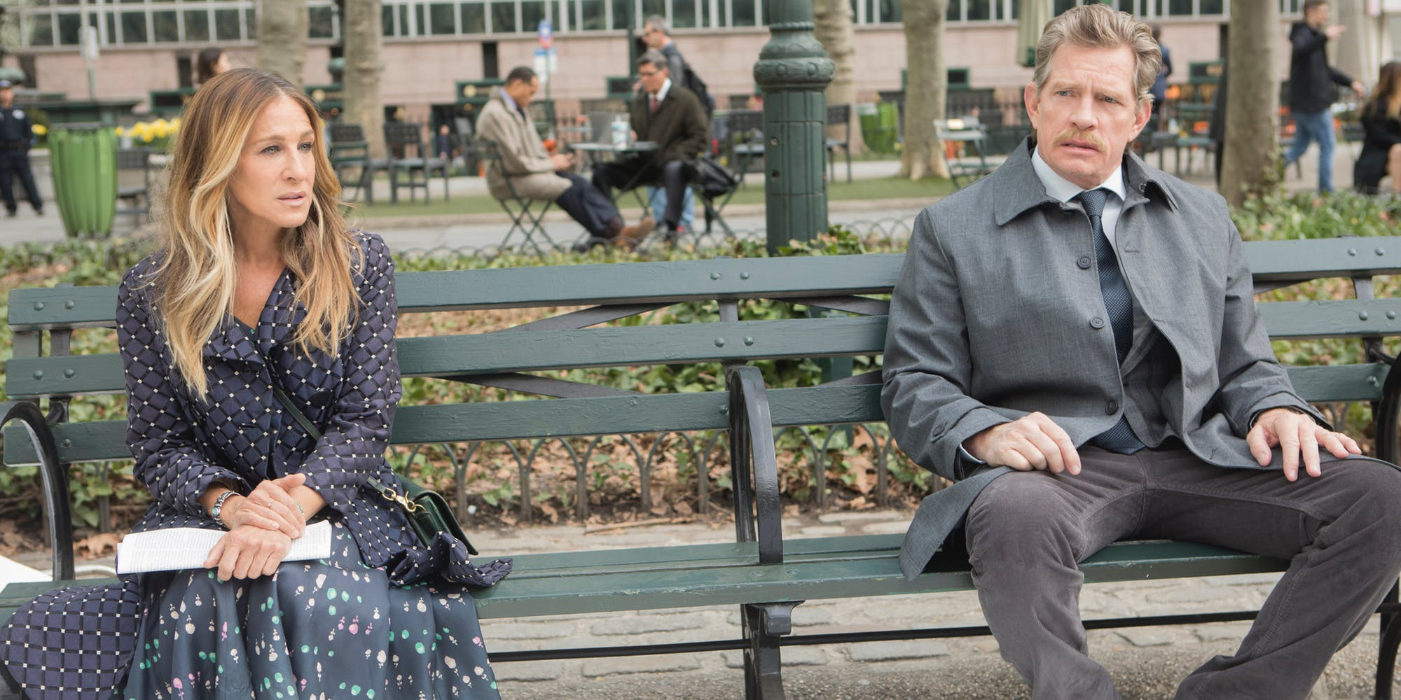 Las segundas temporadas de 'Divorce' y 'Crashing' vuelven a HBO España