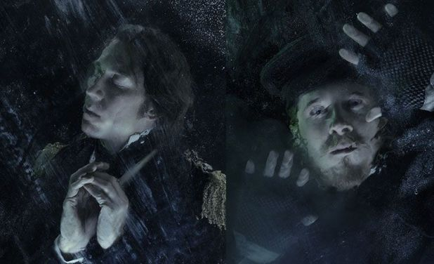 Tobias Menzies y Adam Nagaitis en The Terror