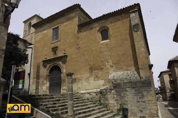 Alcaraz-Calle Mayor-Iglesia de San Miguel-1
