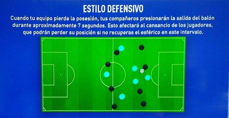 Estilo Defensivo - Fifa 20