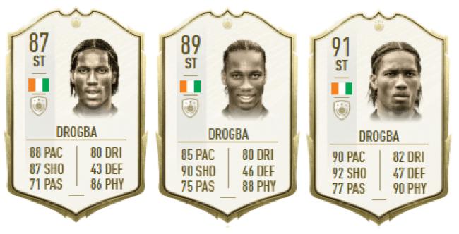 Didier Drogba - Icono Fifa 20