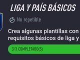 Liga y País Básicos Fifa 21