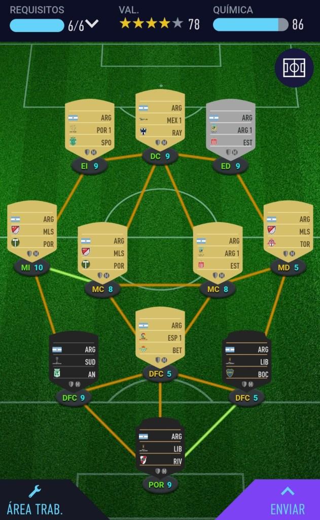 Botas de siete ligas Fifa 21