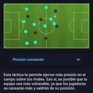 Estilo Defensivo Presión constante Fifa 21