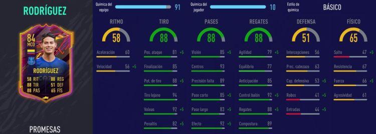 James Rodríguez Fifa 21
