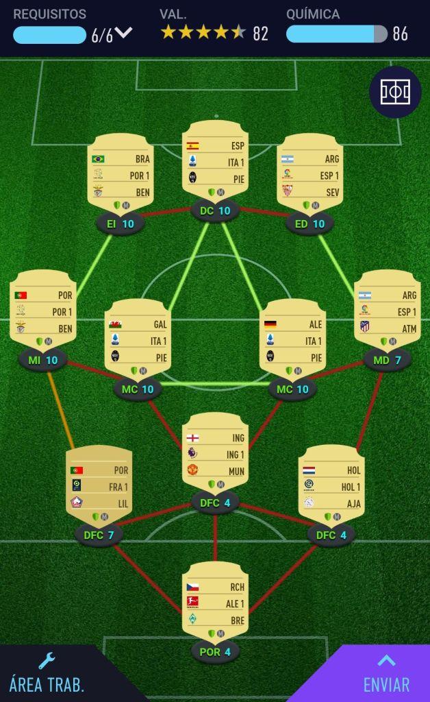 Maestro de los puzzles Fifa 21