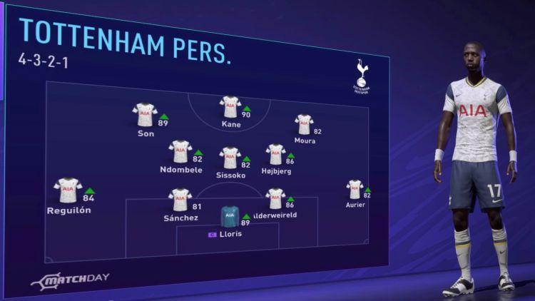 Tottenham Fifa 21