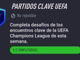 Partidos Clave UEFA Fifa 21