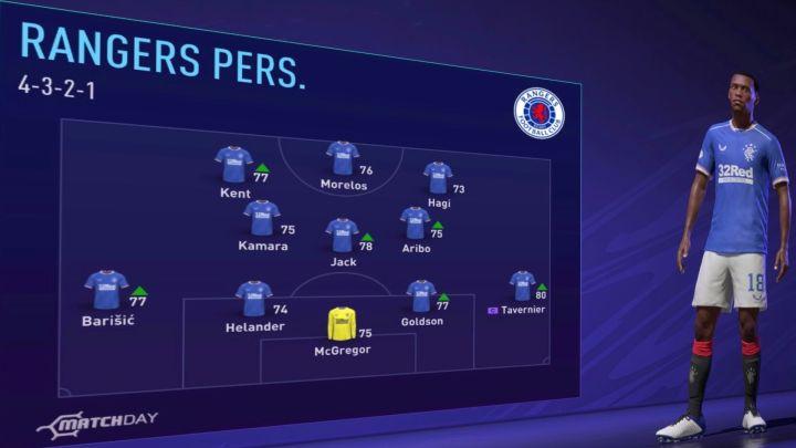 Glasgow Rangers Fifa 21