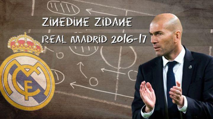 Zinedine Zidane y el Real Madrid 2016-17… Personaliza Fifa 21