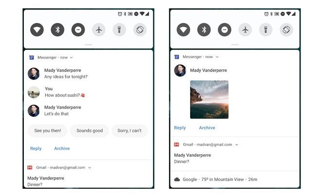 Android P Notificaciones
