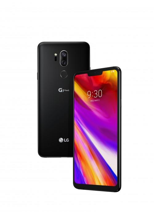 LG G7 ThinQ en negro