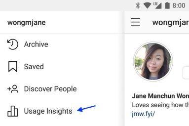 Instagram-Usage-Insights-Menu