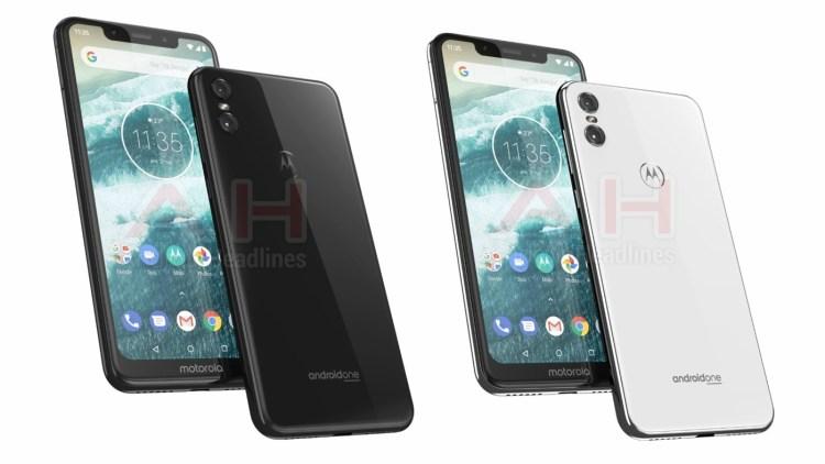Motorola One en colores negro y blanco