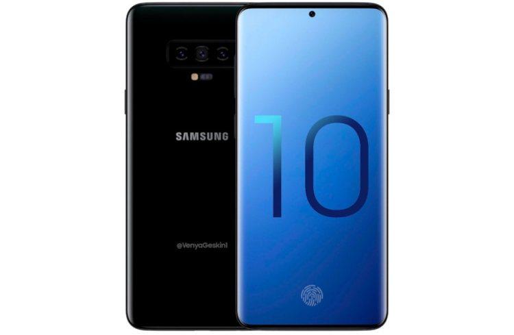 Concepto Samsung Galaxy S10