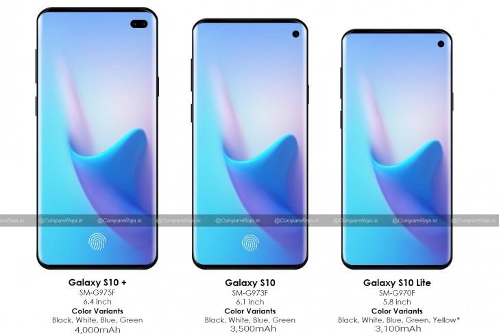 Familia Samsung Galaxy S10