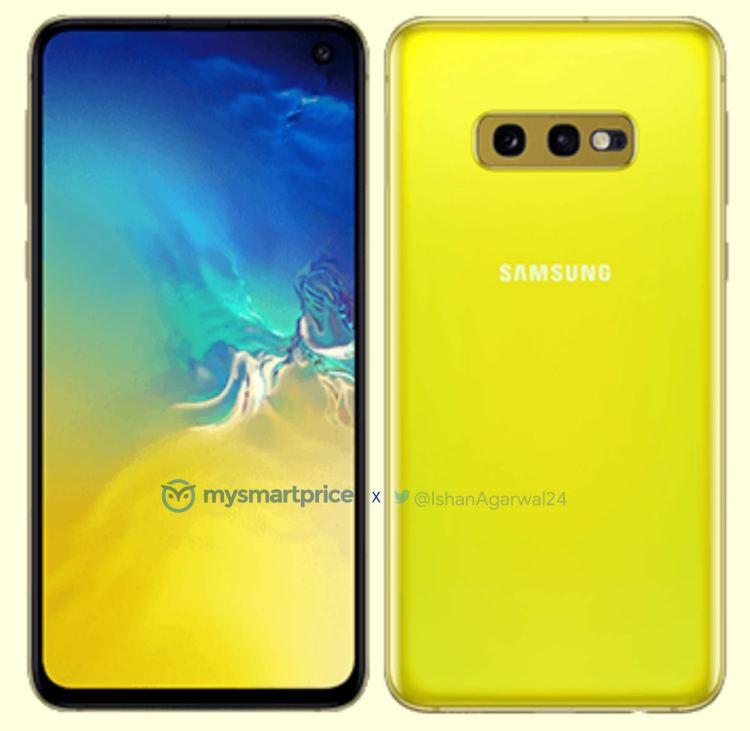 Samsung-Galaxy-S10e-Canary-Yellow