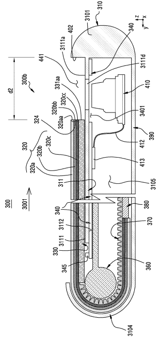 Samsung-Smartphone-patent-with-Flexible-display-1