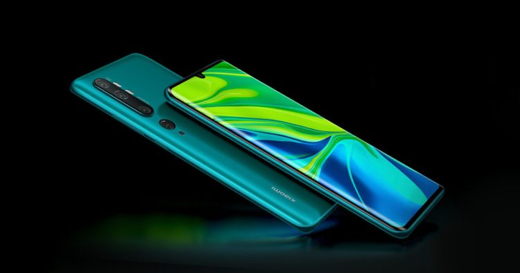 Xiaomi Mi CC9 Pro (fuera de Asia, Mi Note 10)