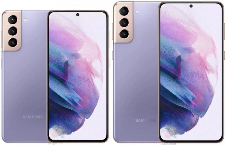Samsung Galaxy S21 (izquierda) S21+ (derecha)