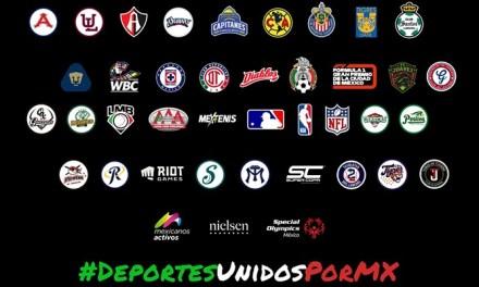 JUNTOS SALDREMOS ADELANTE POR MÉXICO, EL DEPORTE SE SUMA CON CAUSA EN CONTRA DEL COVID19