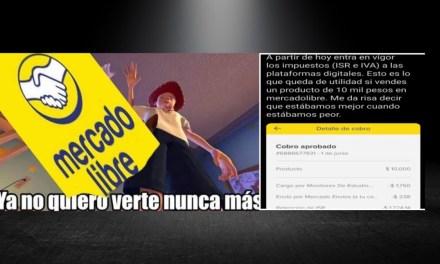 TRAS REFORMA FISCAL, APLICACIONES DE COMERCIO COMO MERCADO LIBRE YA NO SERÁN TAN LIBRES