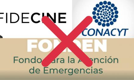 EL CINE, LA CIENCIA Y OTRAS COSAS MÁS QUE FORMAN PARTE DE LA CULTURA EN MÉXICO SERÁN AFECTADAS POR MORENA
