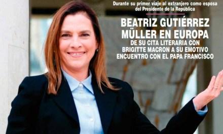 """AHORA SI LE GUSTA A BEATRIZ GUTIÉRREZ MÜLLER SER LA """"ESPOSA"""" DE AMLO; APARECE LA PRIMERA DAMA EN REVISTA ¡HOLA!"""