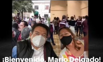 LA VISITA DE MARIO DELGADO DEJÓ MÁS DUDAS QUE CERTEZAS PARA EL PROCESO ELECTORAL DE MORENA NUEVO LEÓN EN 2021