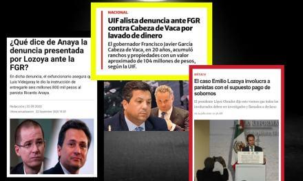 """¡AUNQUE USTED NO LO CREA! EXIGE EL PAN QUE SE """"LIMPIE"""" GOBIERNO DE ANDRÉS MANUEL LÓPEZ OBRADOR, SI, EL MISMO PAN, AL QUE LE TIENEN EN INVESTIGACIÓN A UN GOBERNADOR, A SU EX CANDIDATO PRESIDENCIAL Y MUCHOS ALBIAZULES MÁS"""